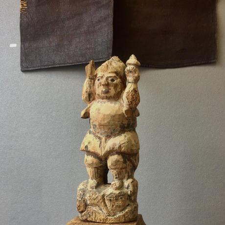 木彫毘沙門天像