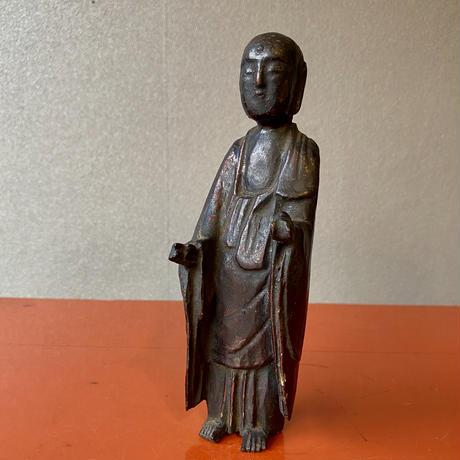 木彫地蔵菩薩立像