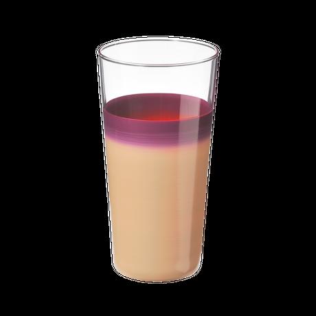 袷(awase)タンブラーL 白紫