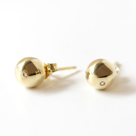 sphere pierce/gold