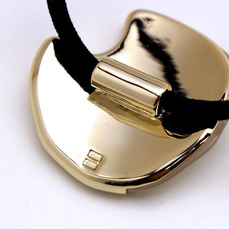 lien round pony / gold color