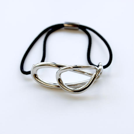 【Re Arrival!】flowing hair tie / silver