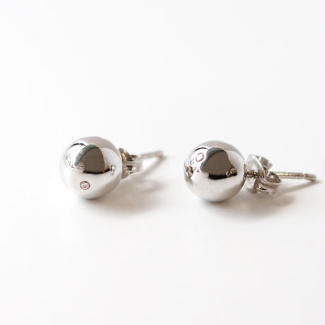 sphere pierce/silver