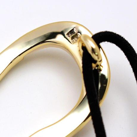 lien pony / gold color