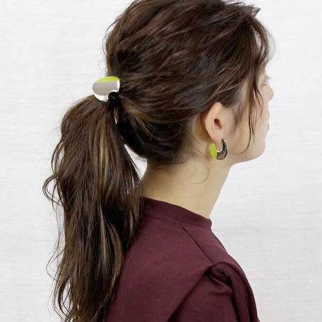 lien round pony / silver color