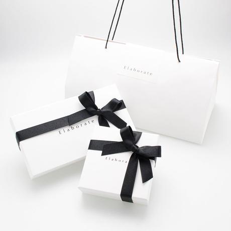 patent leather barrette small / white