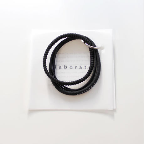 base hair tie  / black