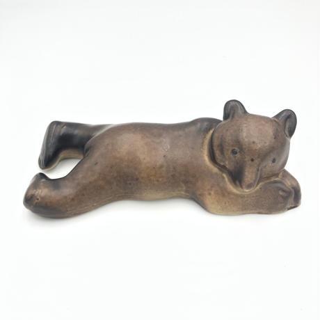 北欧 ARABIA アラビア  /  Figurin 子グマ 北欧雑貨(A-FIG-002)