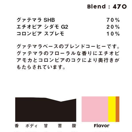 個人ブレンドコーヒー 470の定期プラン