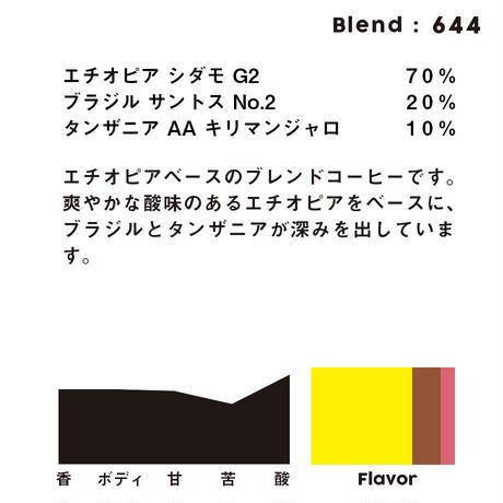 個人ブレンドコーヒー 644