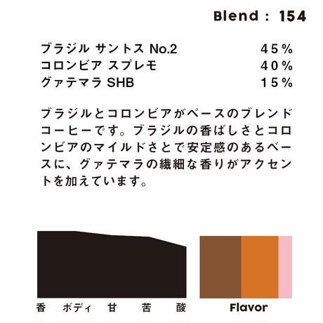 個人ブレンドコーヒー 154