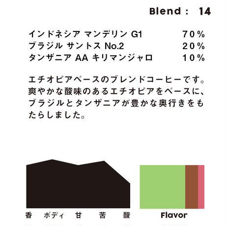 個人ブレンドコーヒー 14の定期プラン