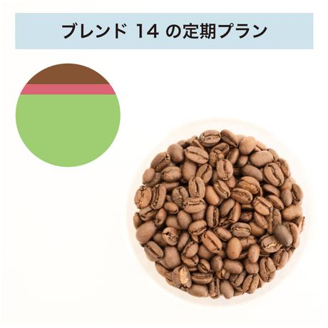フィットするコーヒーNo.14の定期プラン