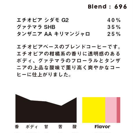 個人ブレンドコーヒー 696