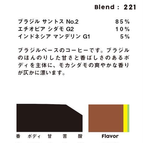 個人ブレンドコーヒー 221