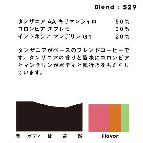 個人ブレンドコーヒー 529