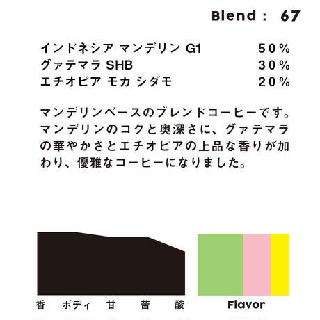 個人ブレンドコーヒー 67