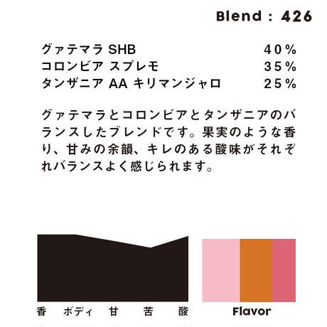 個人ブレンドコーヒー 426の定期プラン