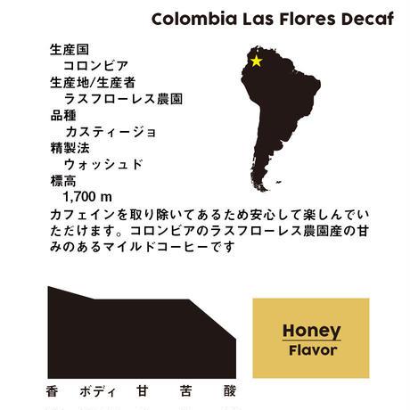 コロンビア ラスフローレス農園 カフェインレス