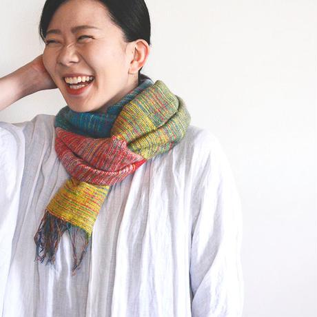手織りストール(モネ)