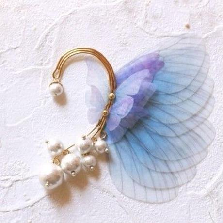 【FayFay】妖精の耳飾り シルフウィンド [イヤーフック]