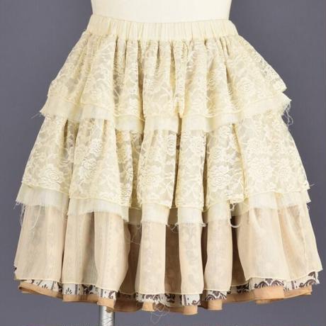 【h.NAOTO】Steam Vapor Skirt/SPD21-S005