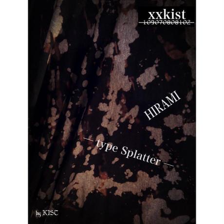 【xxkist】HIRAMI─type Splatter ─【Limited number】
