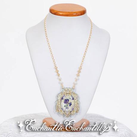 【Enchantlic Enchantilly】すみれ姫のネックレス/007-905-37
