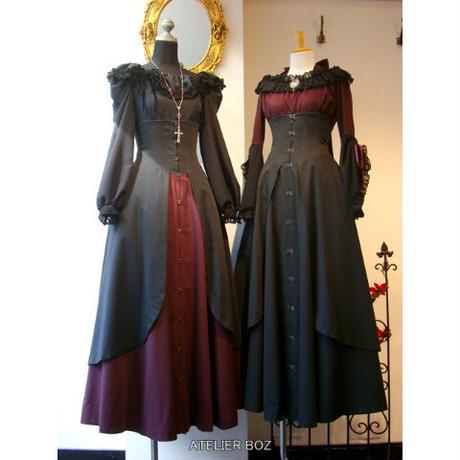 【ATELIER BOZ】ジャンメールコルセットロングスカート(BZ1498):Lサイズ