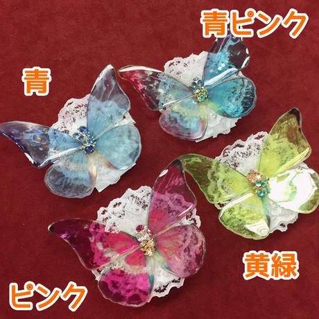 【ゴシックホリック】涼の精霊 蝶々クリップ/中