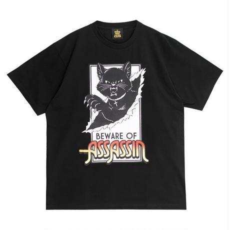 【LISTEN FLAVOR】アサシンキャットビッグTシャツ(2110507)