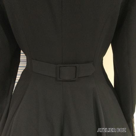 【ATELIER BOZ】ローランド ジャケット【黒・白】/ BZ2130