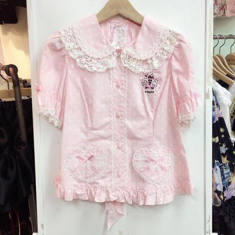 【MAXICIMAM】マジカルクラウン刺繍ブラウス/8R7003
