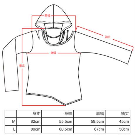 【SEXPOTReVeNGe】3 CURSE セパレート メッシュ スリーヴ デザイン カットソー【SA68755】