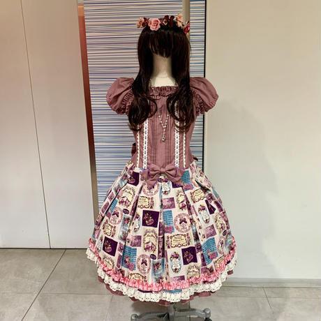 【CHOCO CHIP COOKIE】ロリィタデビューの方にオススメ!ワンピース+キャノティエSET