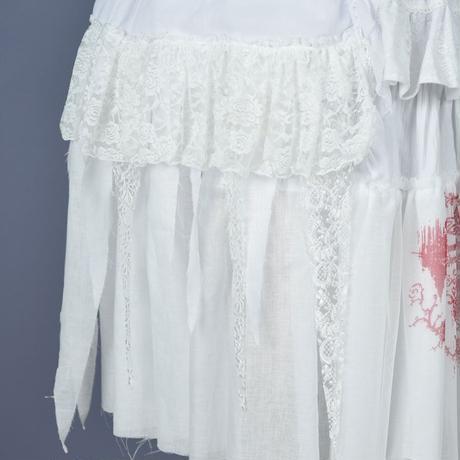 【h.NAOTO】Snow white long dress/CNF28-O068 WH/M
