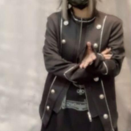 【JURY BLACK 】LAYERED NAPOLEON JACKET(12130501001)