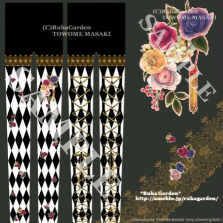【Ruha Garden】レースアップタイツ/T02-11