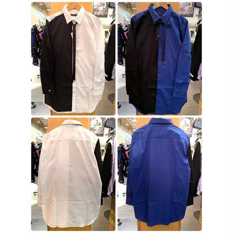 【JURY BLACK 】Two-Color Shirt(12121511003)