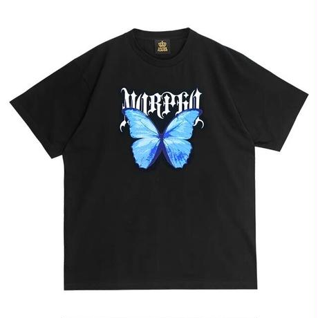 【LISTEN FLAVOR】碧き宝石モルフォビッグTシャツ(2110509)