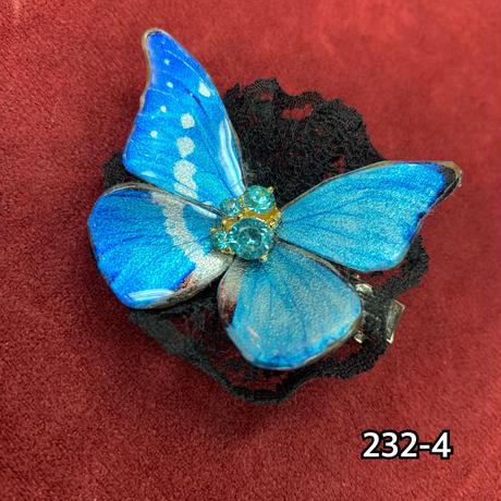 【ゴシックホリック】舞い踊る蝶々クリップ/各色・小