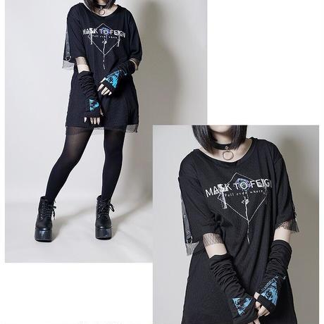 【SEXPOTReVeNGe】BLACK POISON MESH LAYERED カットソー【SA68766】