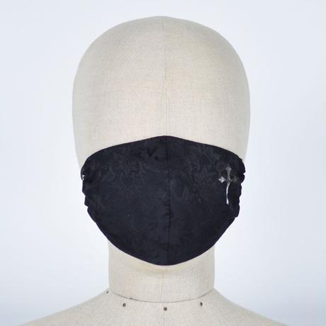 【h.NAOTO】 Gothic Pattern Cross Mask Wear / CNF29-G138 BK/F