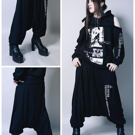 【SEXPOTReVeNGe】VENGEANCE BLACK サルエルパンツ【SC02300】