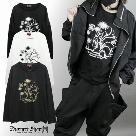 【Deorart】コットン素材 ロングスリーブカットソー(キュービ 九尾の狐)(DRT-2516)
