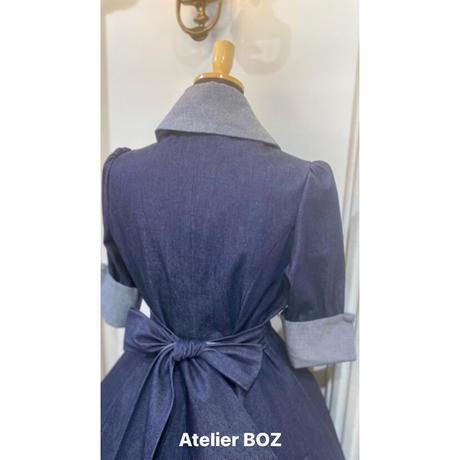 【ATELIER BOZ】 キャロルデニムワンピース/6206