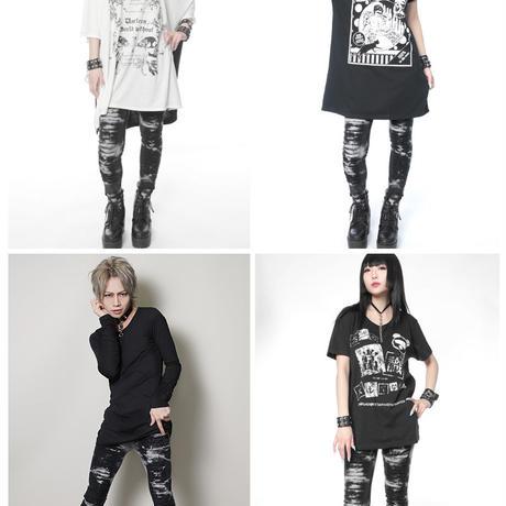 【SEXPOTReVeNGe】BLEACH SLASH STRETCH パンツ(02251)
