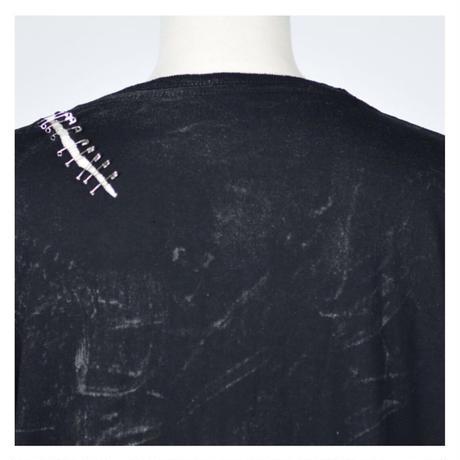 【h.NAOTO】Slash safety pin chain TOPS/CNF27-T282 BK/L