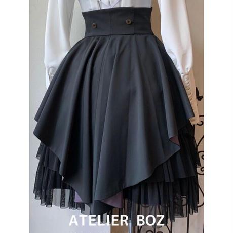 【ATELIER BOZ】ヘクトルミニオーバースカート(BZ1468)
