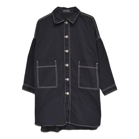 【HELL CAT PUNKS】ビッグシャツジャケット(HCP-OU-0015)